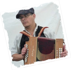 Jonathan Causebrook playing melodeon